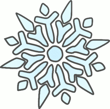 free snowflake clipart