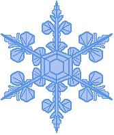 Free Snowflake Clipart-free snowflake clipart-2