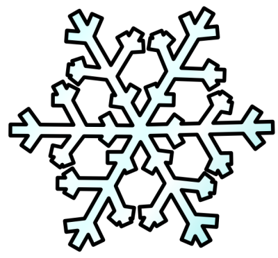 Free Snowflake Clipart - Publ - Free Clip Art Winter