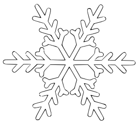 Free Snowflake Clipart-Free Snowflake Clipart-8