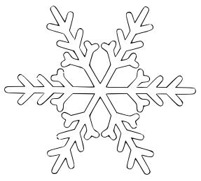 Free Snowflake Clipart-Free Snowflake Clipart-3