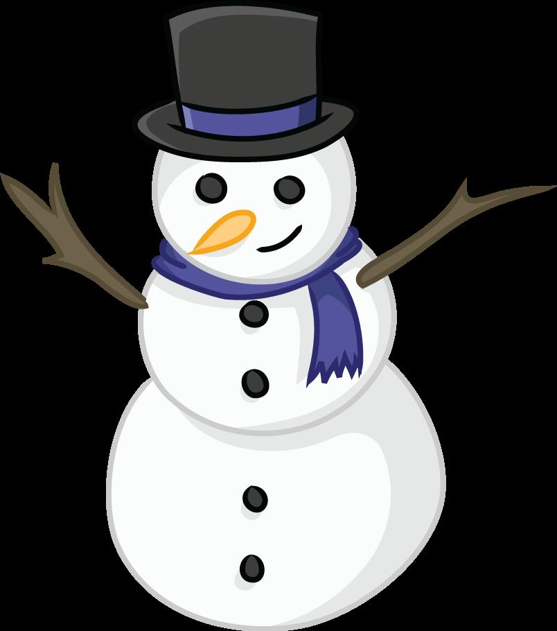 Free Snowman Clip Art - Clipartall-Free Snowman Clip Art - clipartall-6