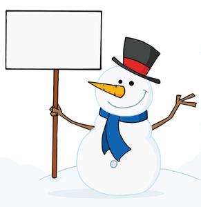 Free Snowman Clipart-free snowman clipart-6