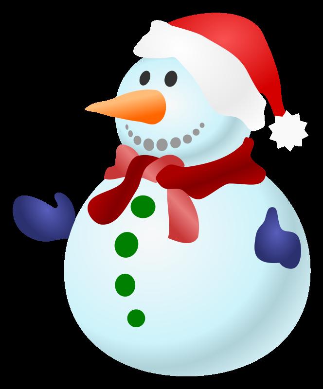 Free snowman clipart public domain christmas clip art image image