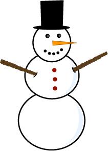 Free Snowman Clipart-free snowman clipart-9