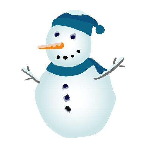 Free Snowman Clipart-free snowman clipart-12