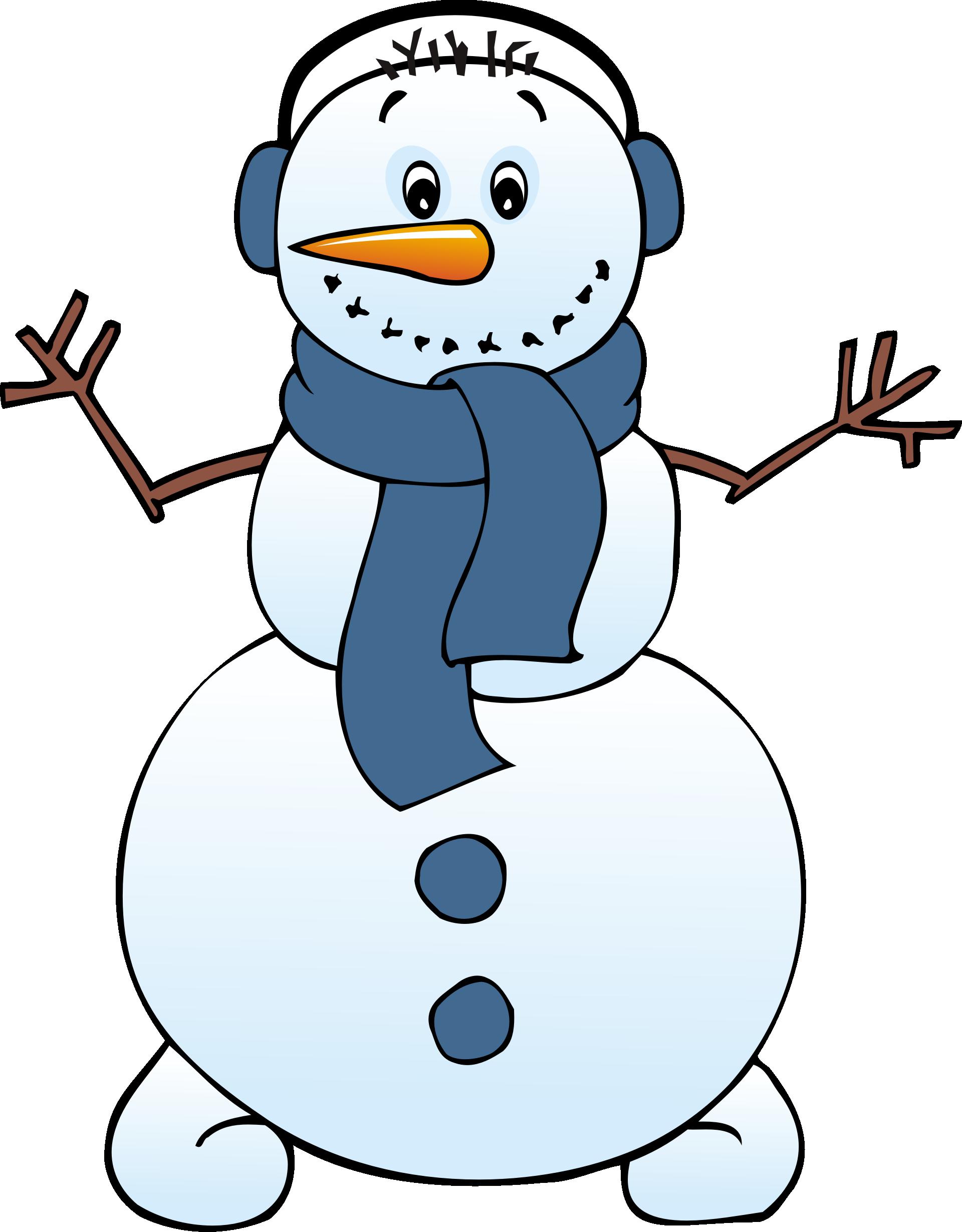 Free Snowman Clipart-free snowman clipart-7