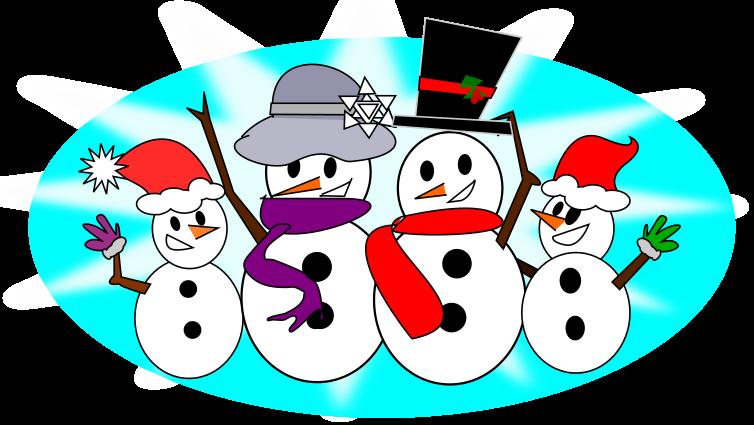 Free Snowman Family Clip Art