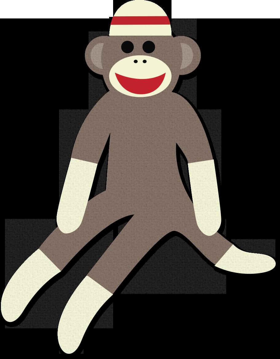 Free Sock Monkey Clip Art