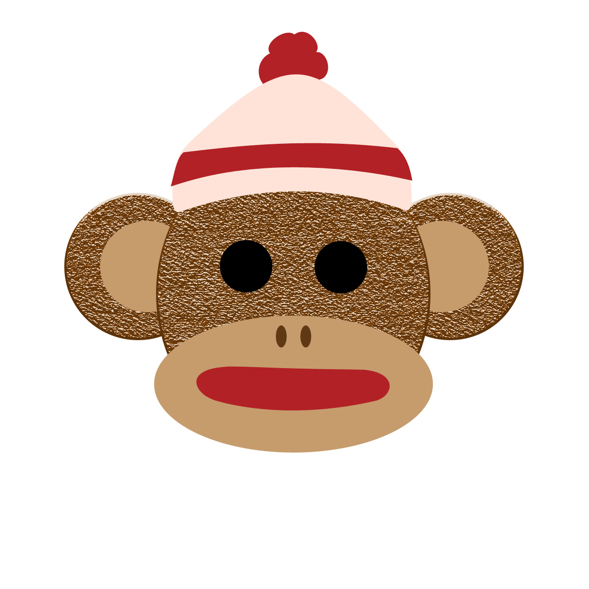 Free Sock Monkey Clipart. Resolution 1200x1200 .