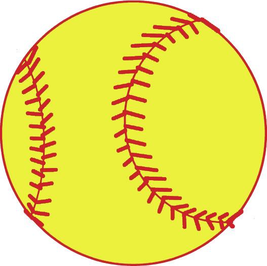free softball clipart-free softball clipart-1