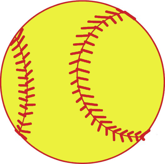 free softball clipart-free softball clipart-1