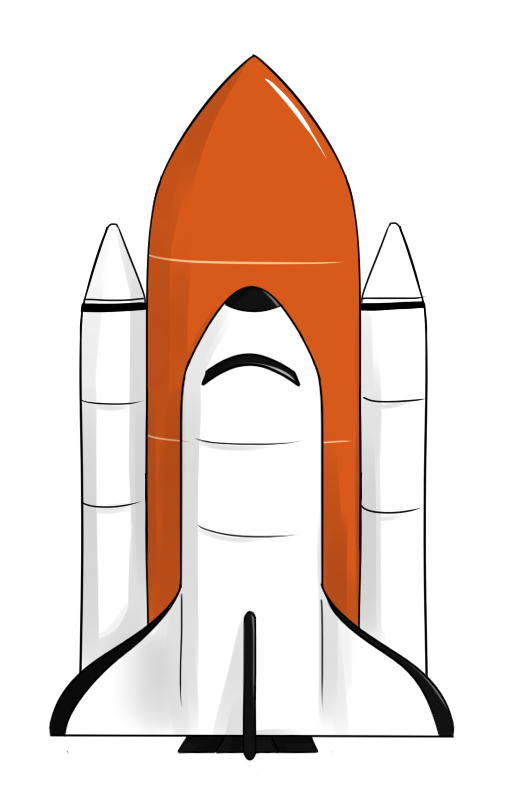 Free Space Shuttle Clip Art