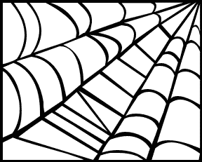 Free spider web clipart public domain halloween clip art images