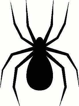Free Spiders Clipart.