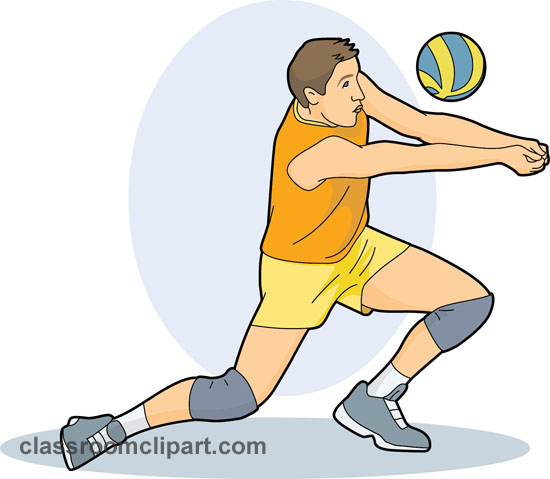 Free sports volleyball clipart clip art pictures graphics id