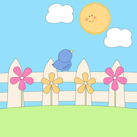 Free spring clip art lines free clipart image 2