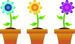 Free spring clip art lines .