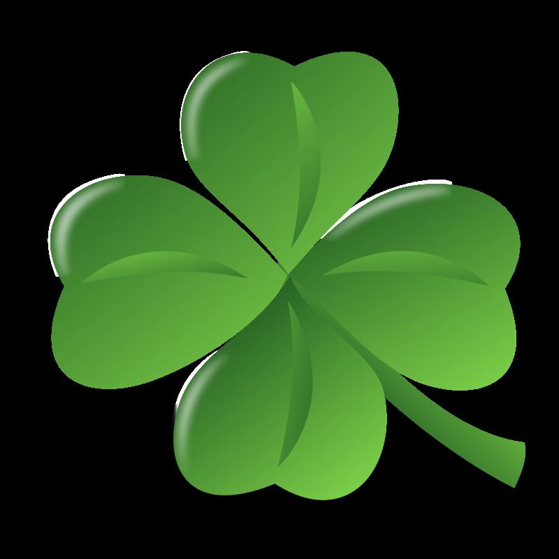Free St Patrick Clover Clip Art-Free St Patrick Clover Clip Art-16