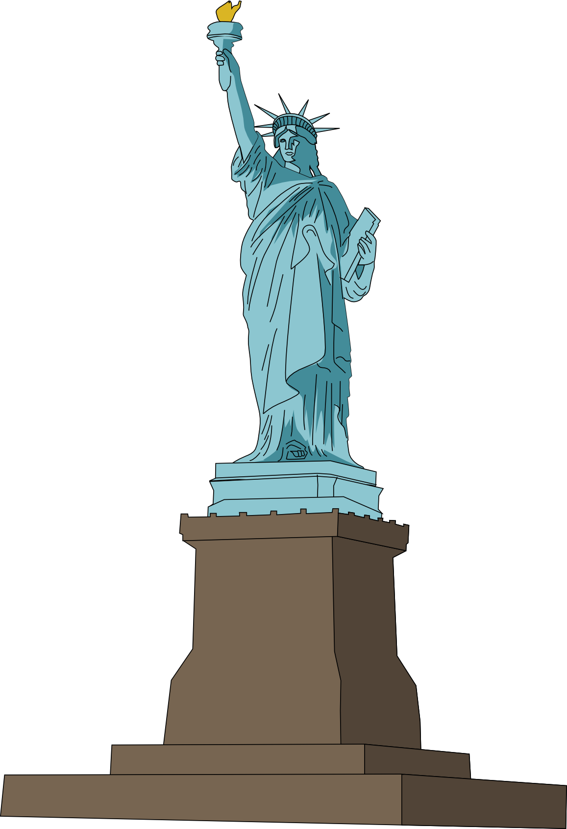 Free Statue of Liberty Clip Art