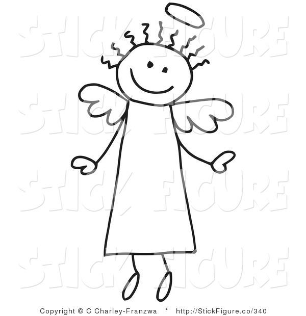 Angel clip art free religious