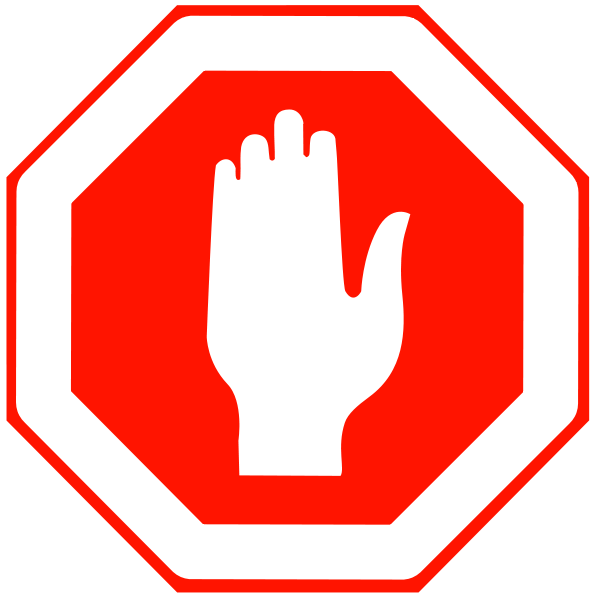 ... Free stop sign clip art ...