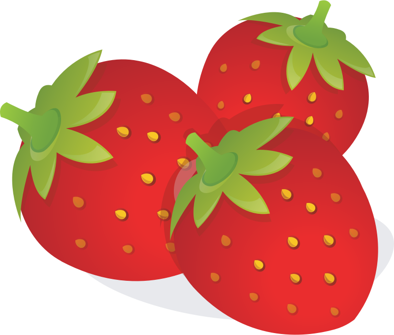 Free Strawberries Clip Art
