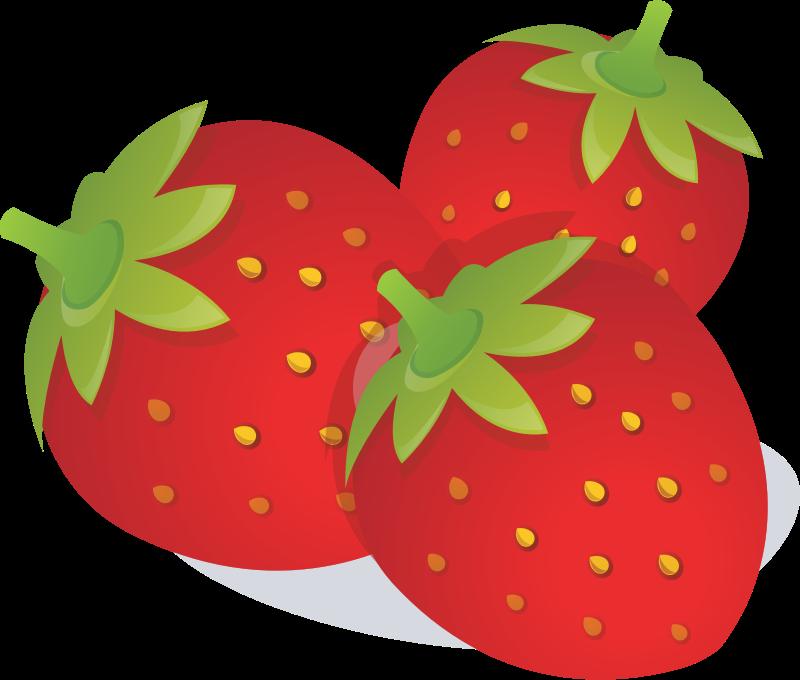 Free Strawberries Clip Art-Free Strawberries Clip Art-3