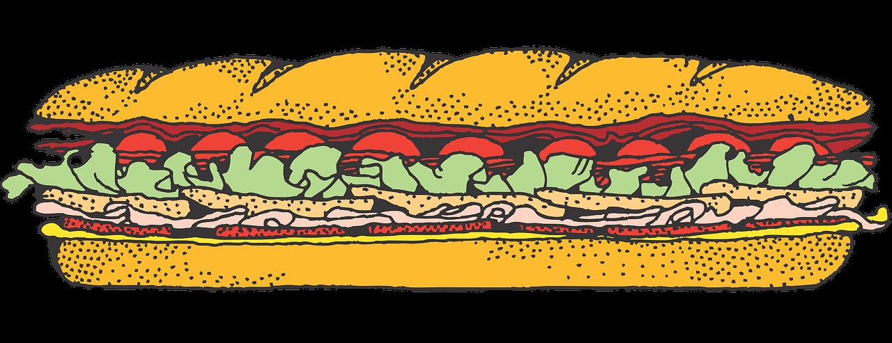 Free Submarine Sandwich Clip Art-Free Submarine Sandwich Clip Art-1