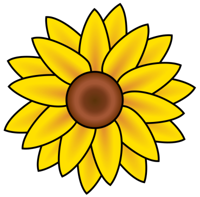 Free Sunflower Clipart - Public Domain F-Free Sunflower Clipart - Public Domain Flower clip art, images and-5