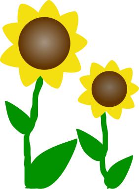 Free Sunflower Clipart-Free Sunflower Clipart-5