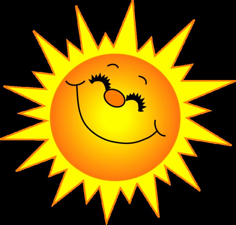Free sunshine clipart picture - Free Sun Clip Art
