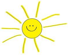 Free sunshine clipart summer parties