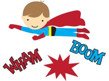 free Superhero printables .