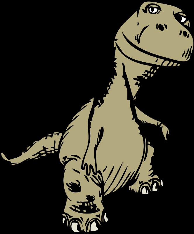 Free T-Rex Sketch Clip Art-Free T-Rex Sketch Clip Art-6