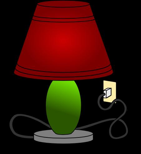 Free Table Lamp Clip Art