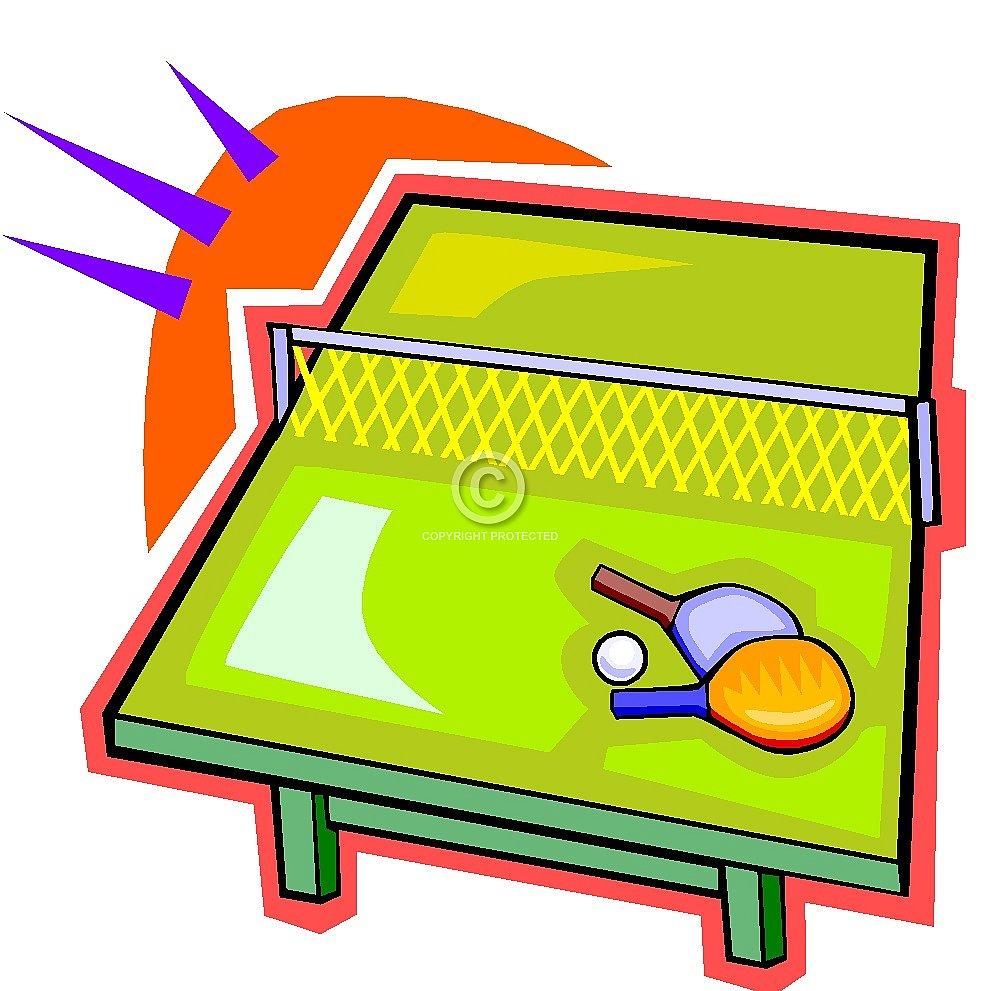 Free Table Tennis Ping Pong Clip Art u2013 Diehard Images, LLC