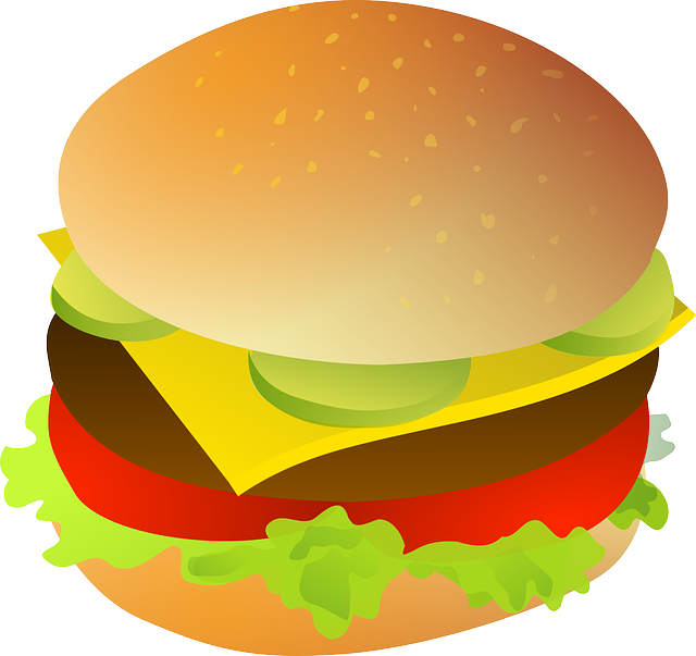 Free Tasty Hamburger Clip Art-Free Tasty Hamburger Clip Art-4