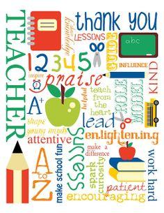 free teacher appreciation clip .