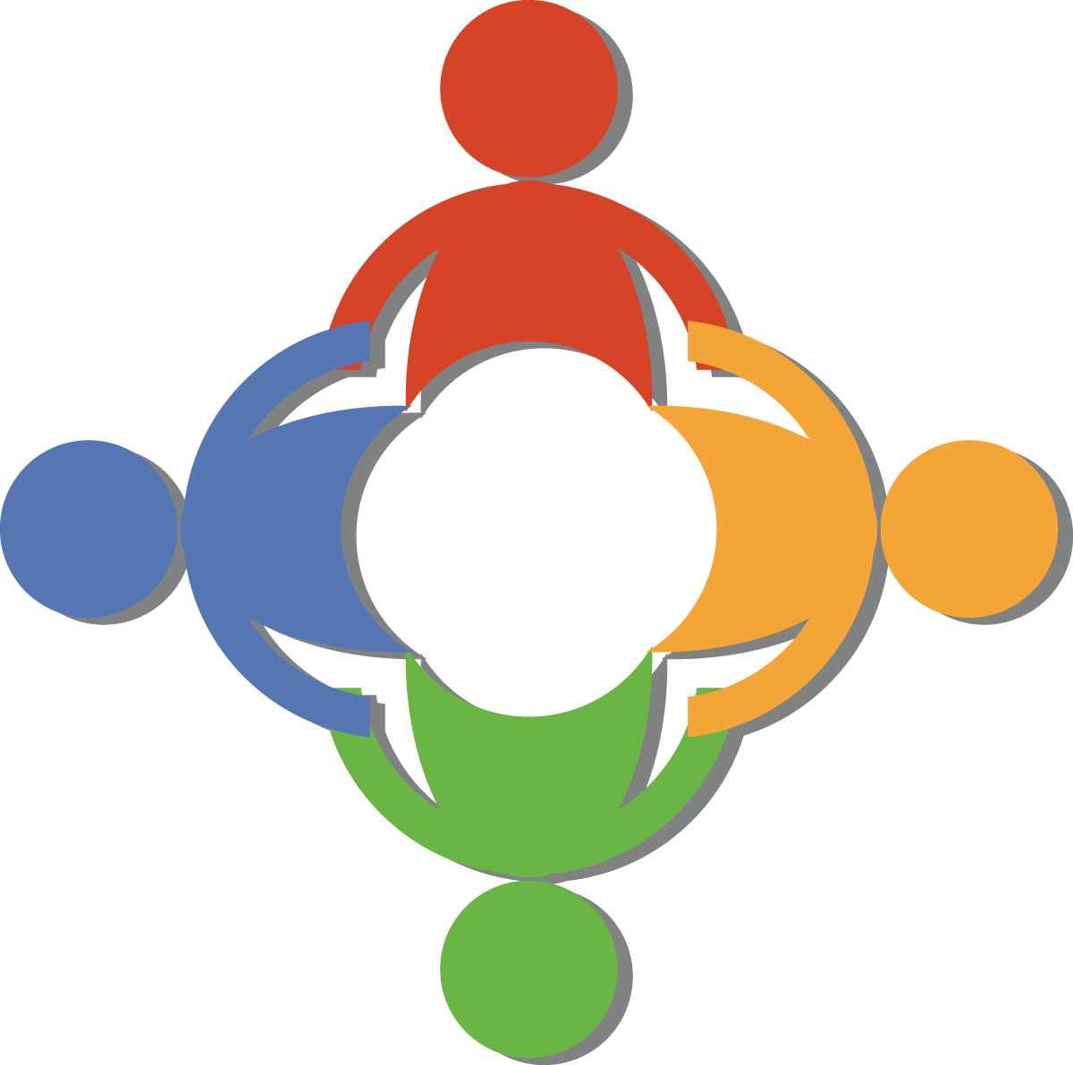 Free Teamwork Clip Art Of A Circle Of Di-Free Teamwork Clip Art Of A Circle Of Diverse People Holding Hands-2