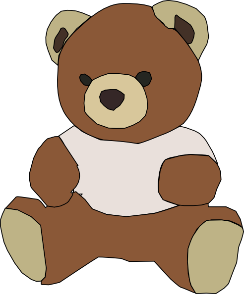 Free Teddy Bear 2 Clip Art