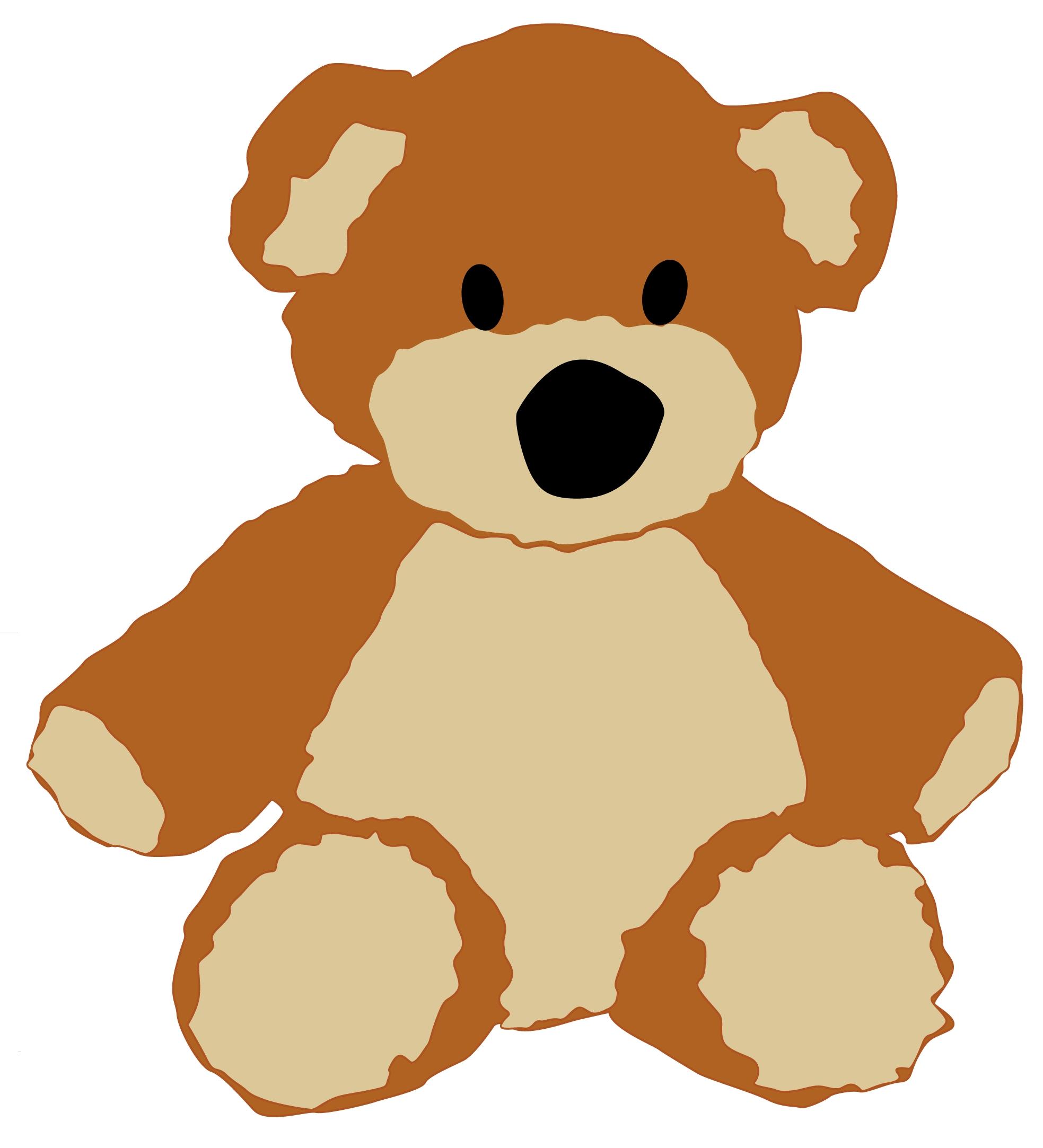 Free Teddy Bear Craft Bear1-Free Teddy Bear Craft Bear1-6
