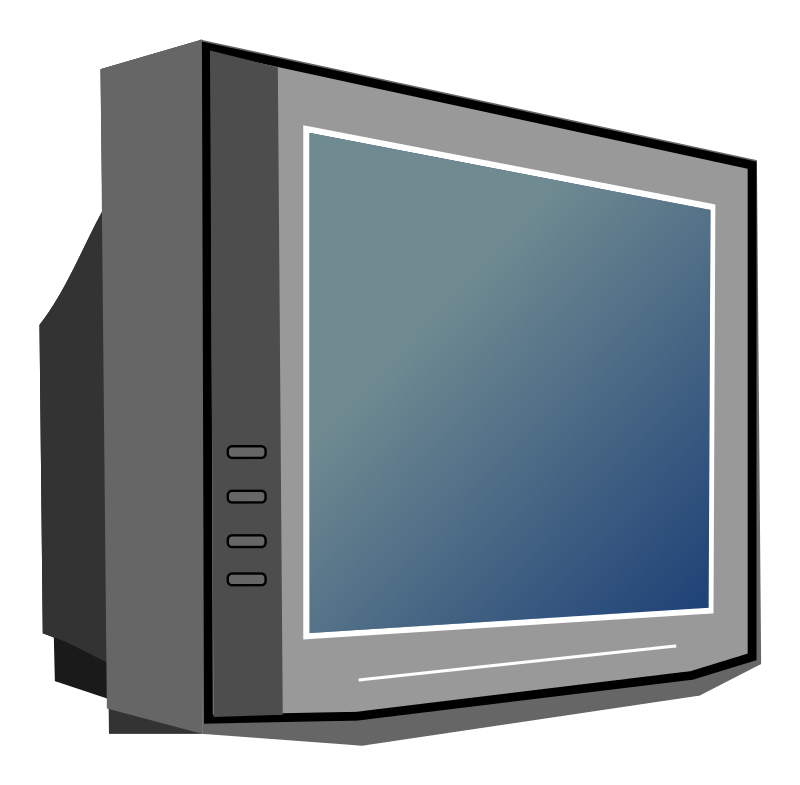Free Television Set Clip Art - Television Clip Art
