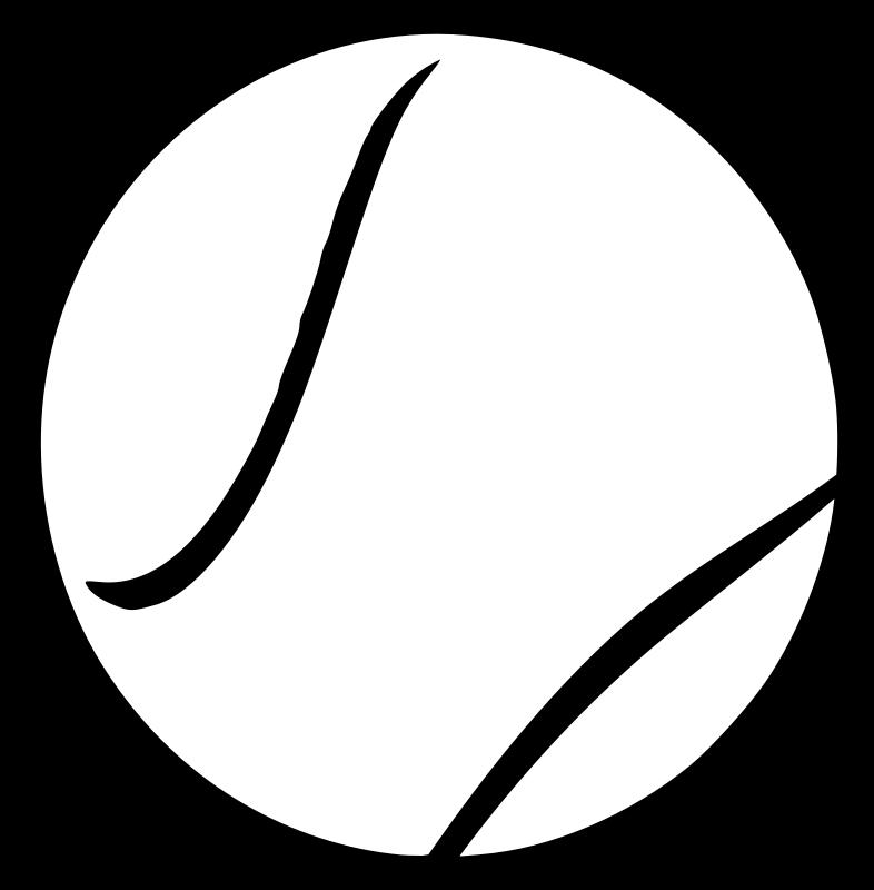 Free tennis ball clipart 3
