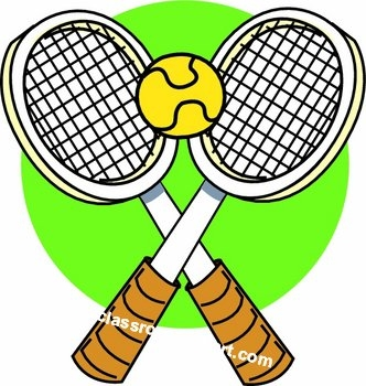 Free tennis clip art photos