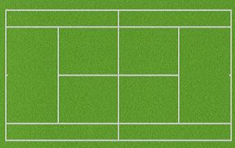 Free Tennis Court Clipart-Free Tennis Court Clipart-1