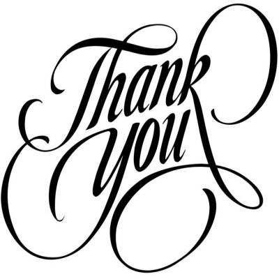 Free Thank You Clipart Black And White-Free thank you clipart black and white-1