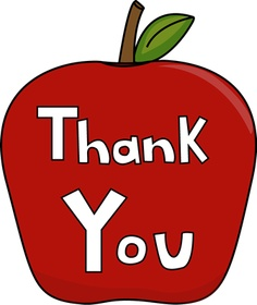 Free Thank You Clipart Clipart .