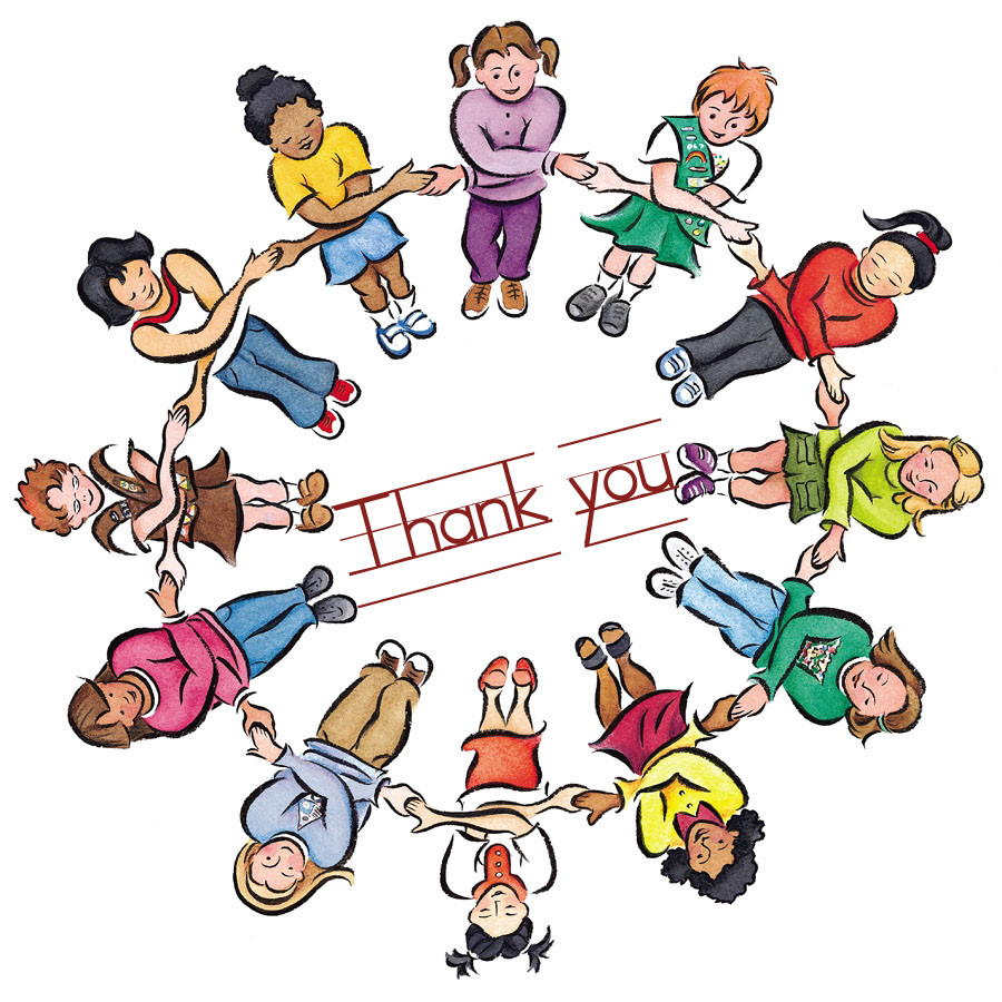Free Thank You Clipart