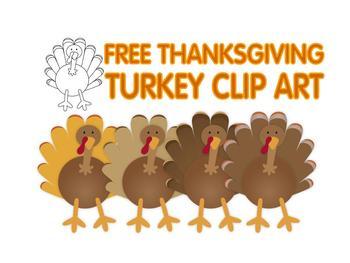 FREE Thanksgiving Turkey Clip Art-FREE Thanksgiving turkey clip art-13